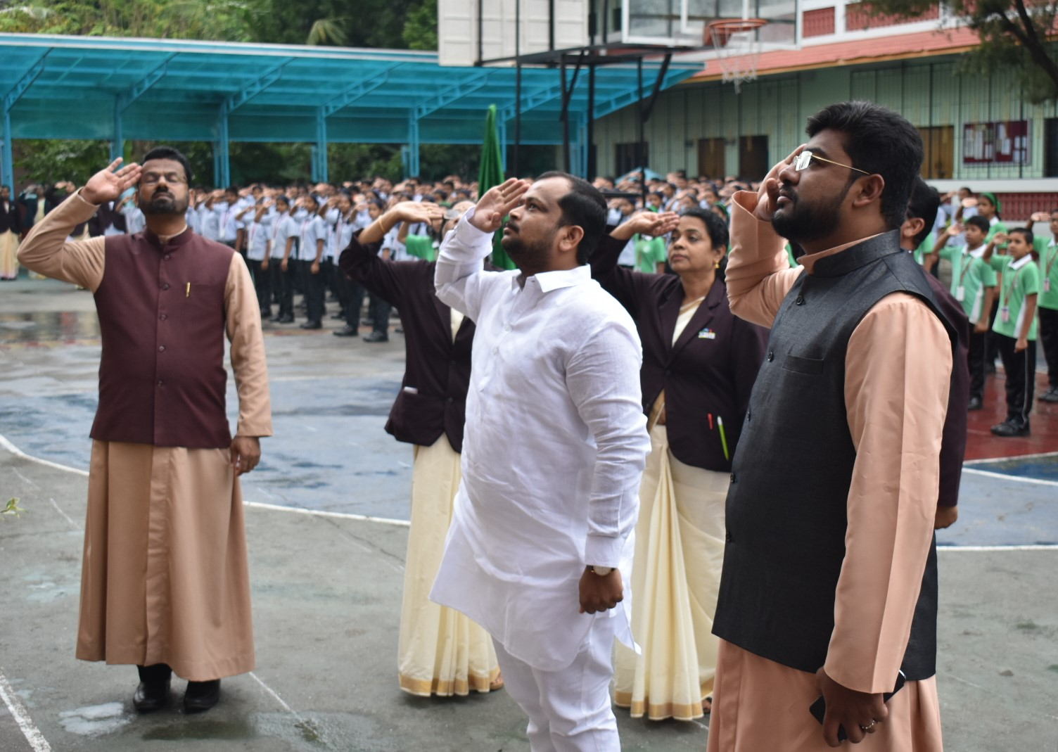 15 AUGUST : INDEPENDENCE DAY WAS CELEBRATED WITH FULL OF PATRIOTISM