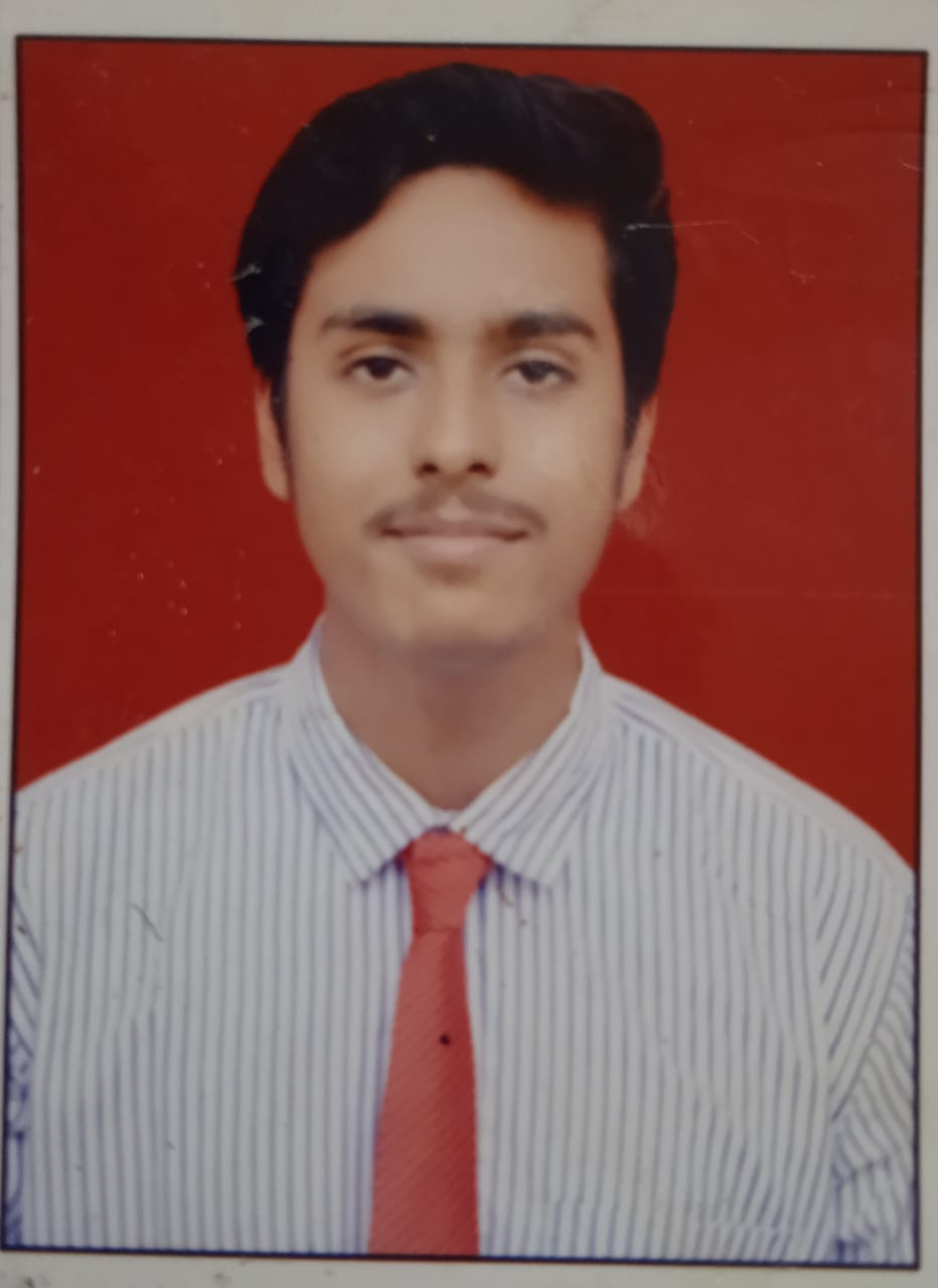 XIIth SCIENCE  TOPPPER :- Tiwari Aryan(96.33%)